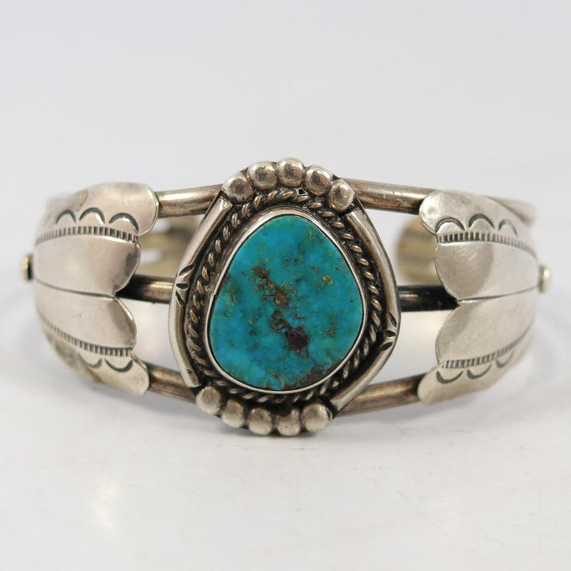 1960s Morenci Turquoise Cuff
