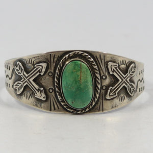 1940s Fred Harvey Turquoise Cuff