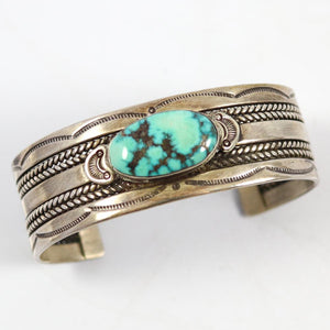 Vintage Turquoise Cuff