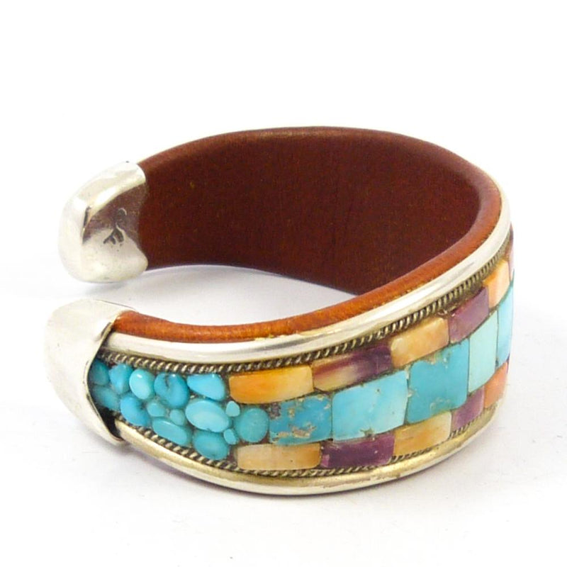 Mosaic Inlay Cuff