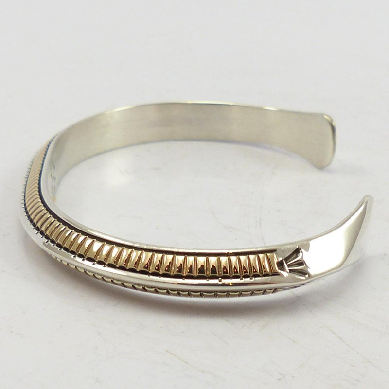 Silver and Gold Cuff