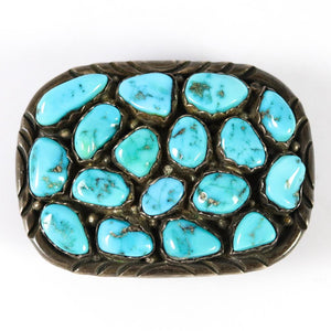 1970s Turquoise Buckle