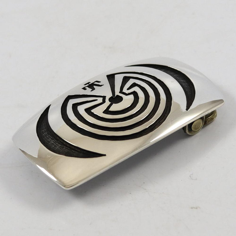 Man in Maze Buckle