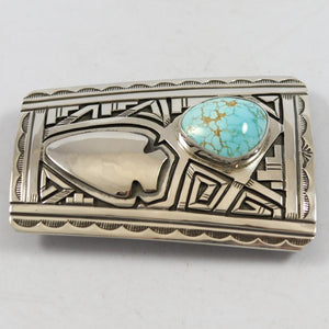 Number Eight Turquoise Buckle
