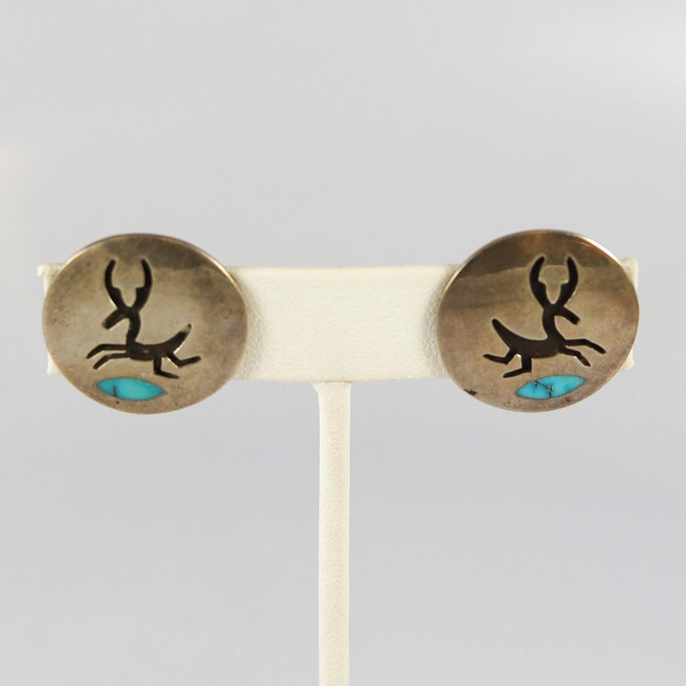 1970s Deer Earrings