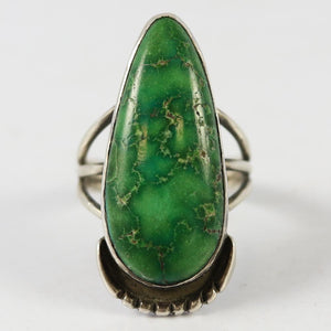 Broken Arrow Variscite Ring