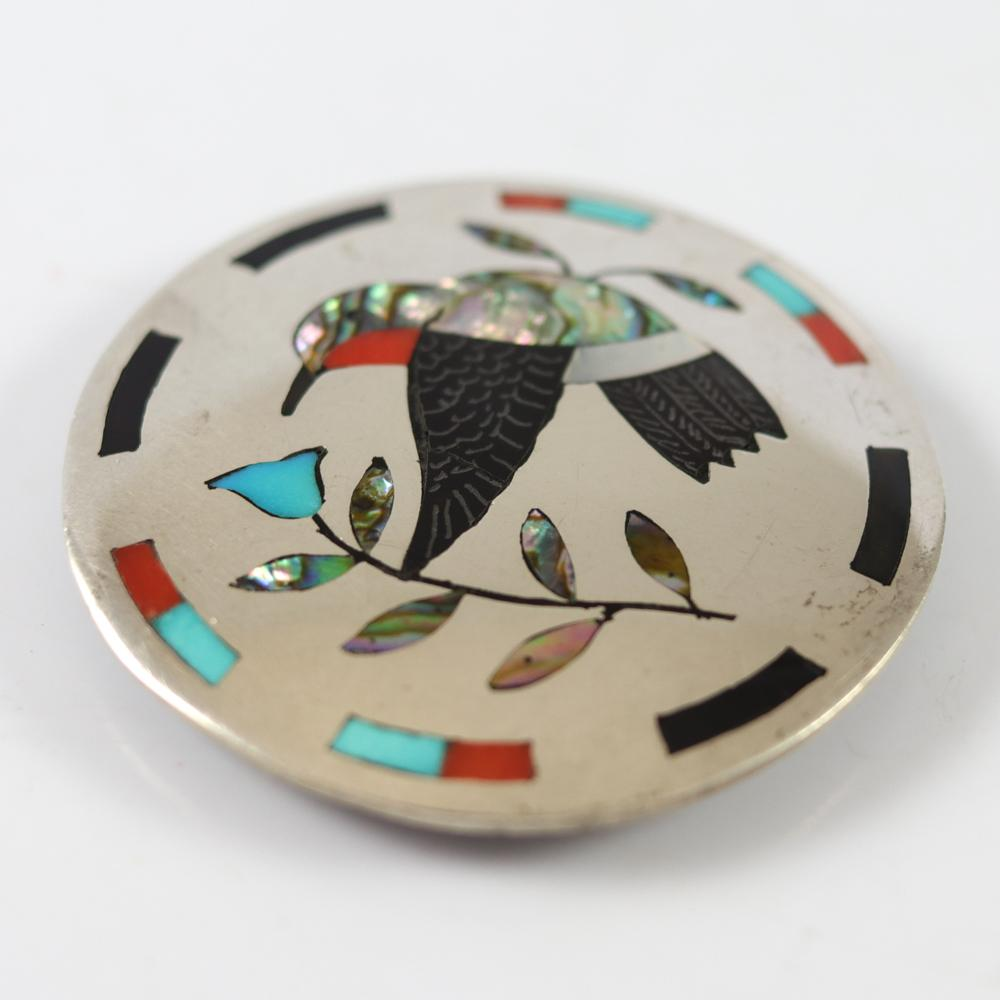 Vintage Hummingbird Pin and Pendant