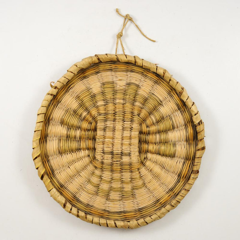 1920s Hopi Wicker Plaque