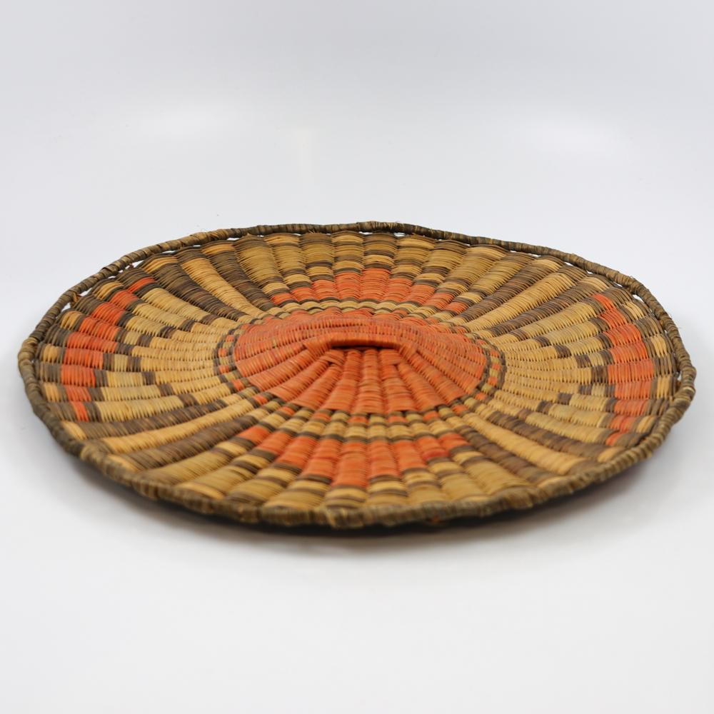 1940s Hopi Wicker Plaque