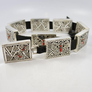 Coral Butterfly Concha Belt
