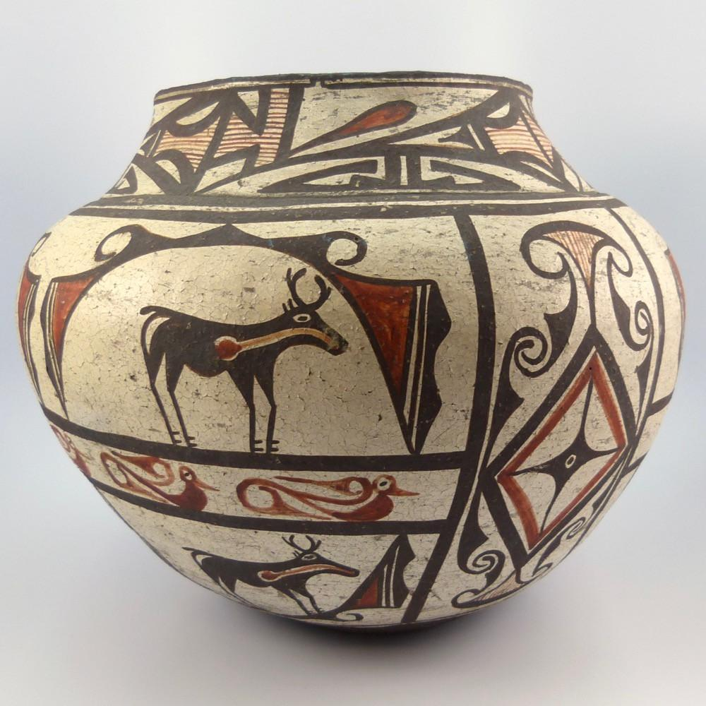 1885 Zuni Polychrome Jar