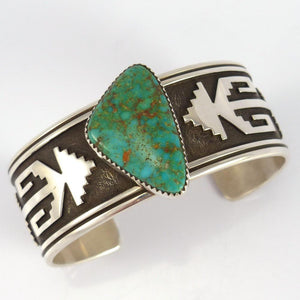 Royston Turquoise Cuff - Jewelry - Norman Woody - 1