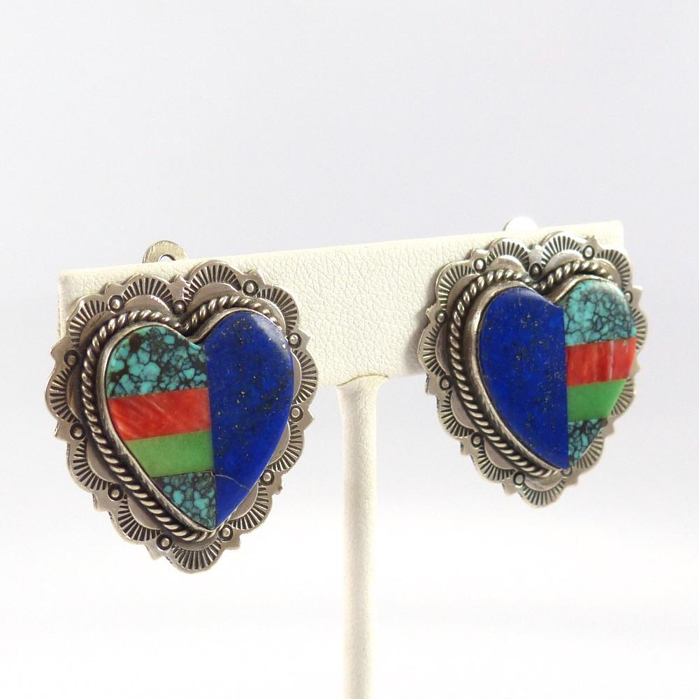 Heart Clip Earrings - Jewelry - Valerie and Benny Aldrich - 1