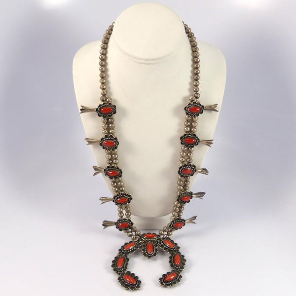 1970s Coral Squash Blossom - Jewelry - Vintage Collection - 1