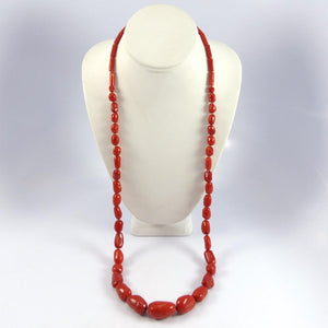 Vintage Coral Bead Necklace - Jewelry - Vintage Collection - 1