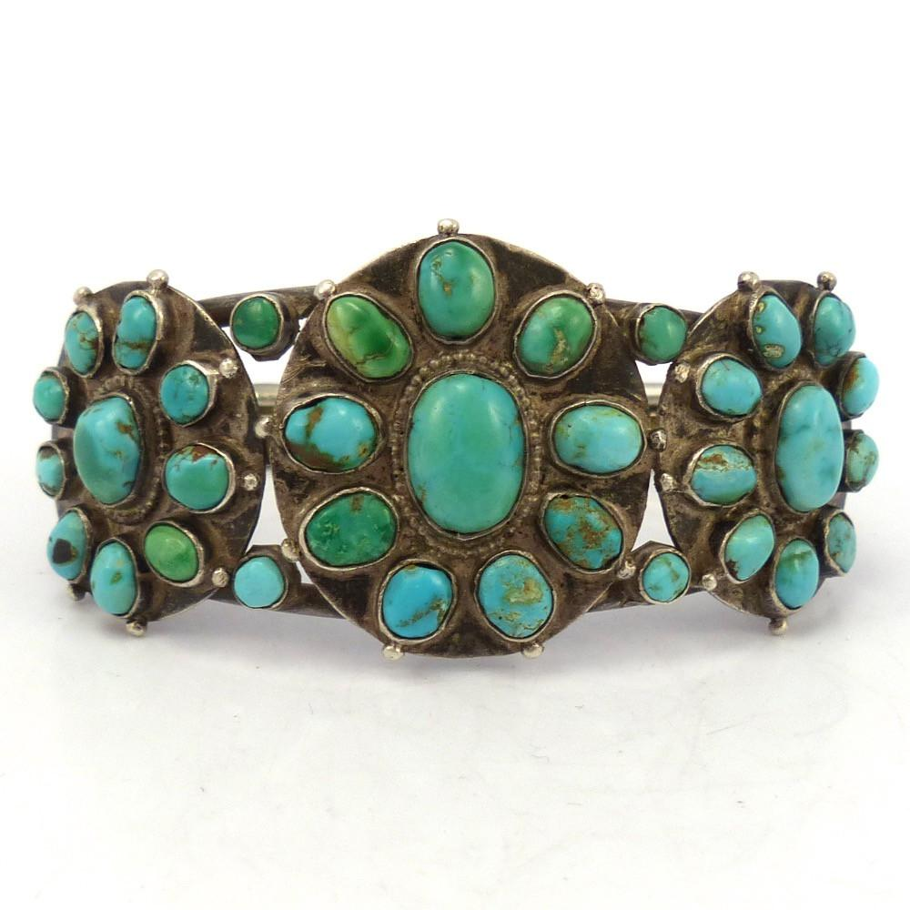1930s Turquoise Cuff, Vintage Collection, Jewelry, Garland's Indian Jewelry