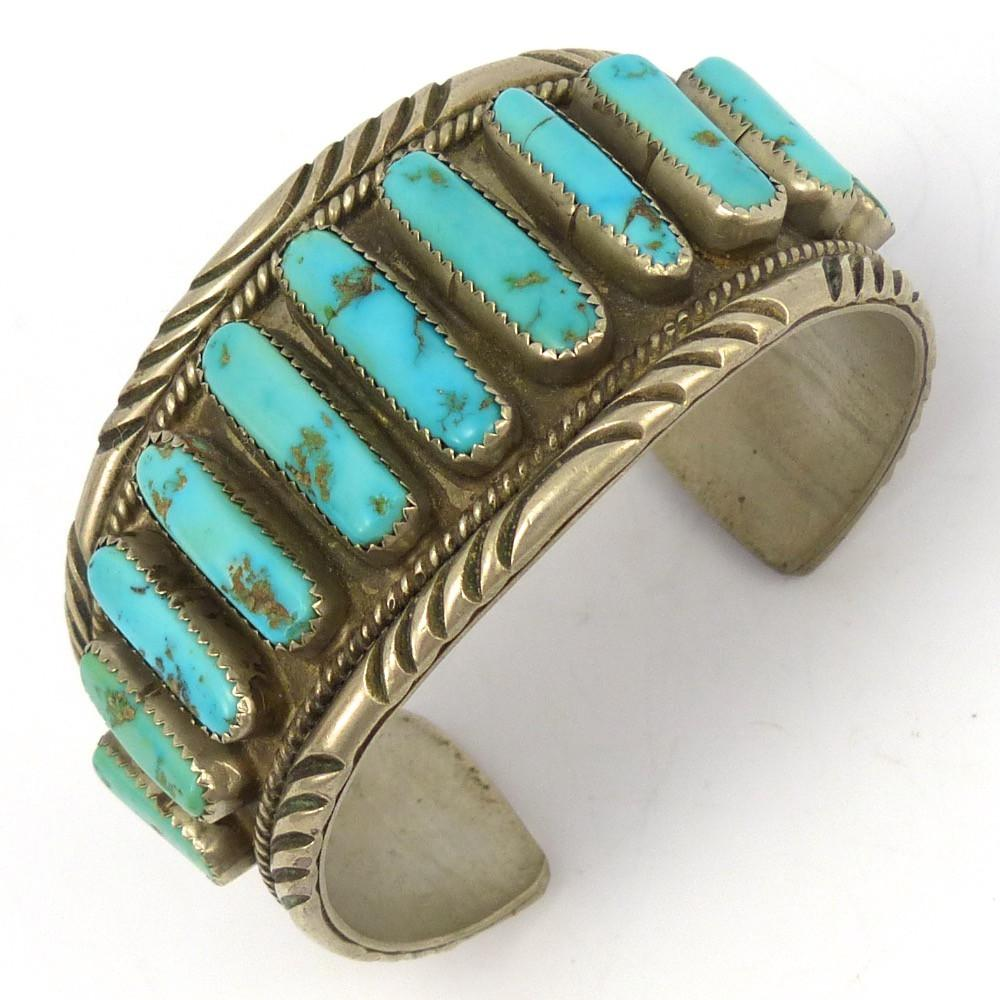 1970s Sleeping Beauty Turquoise Cuff – Garland's Indian Jewelry