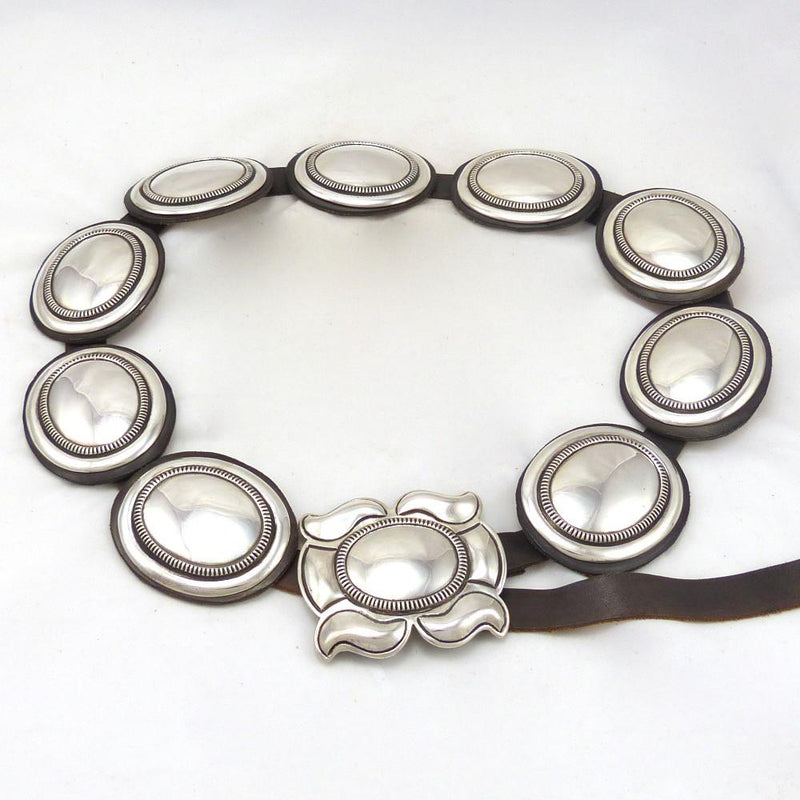 Silver Concha Belt, Cippy Crazyhorse, Jewelry, Garland's Indian Jewelry