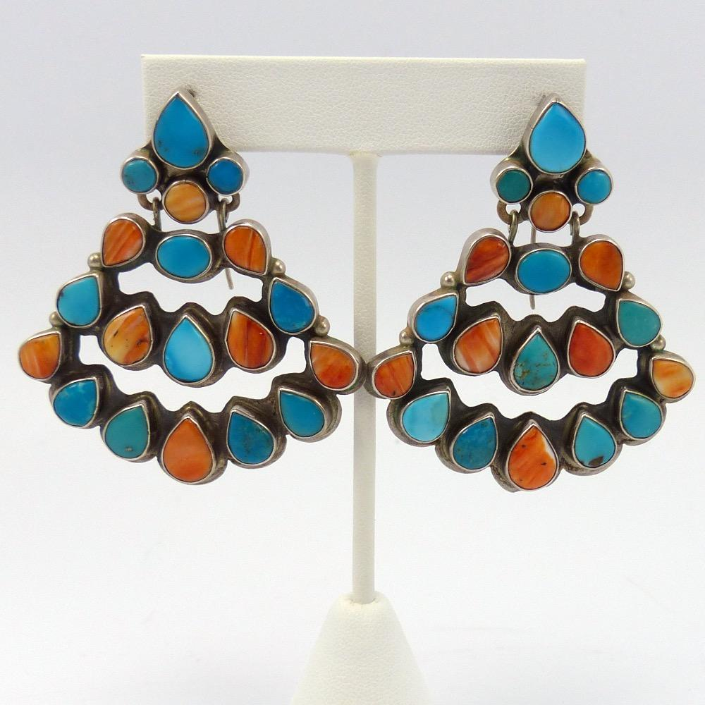 Navajo Spiny Oyster And Turquoise Naja Wit moreover Purple Turquoise also Turquoise And Shell Earrings 13 together with Modernism Jewelry besides  on oscar betz jewelry style