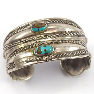 Bisbee Turquoise Cuff, Vintage Collection, Jewelry, Garland's Indian Jewelry
