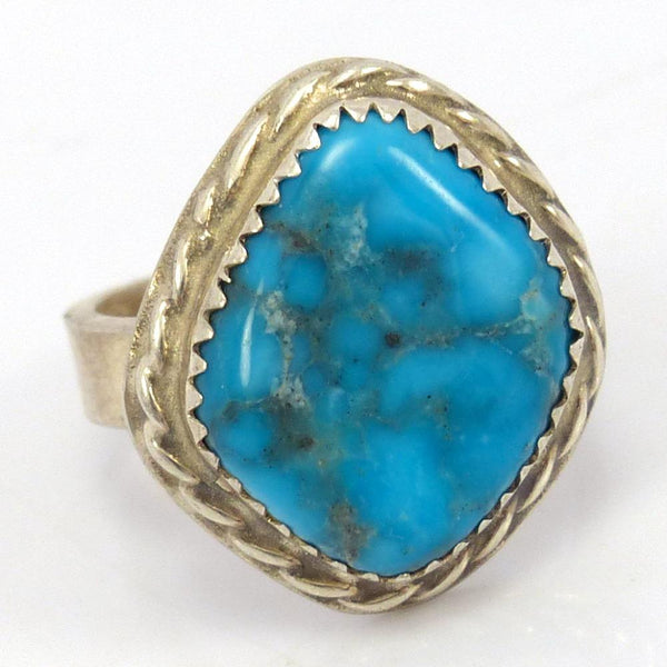 1970s Morenci Turquoise Ring