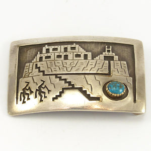 Red Mountain Turquoise Buckle