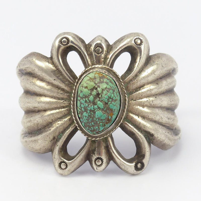 1960s Turquoise Sandcast Cuff