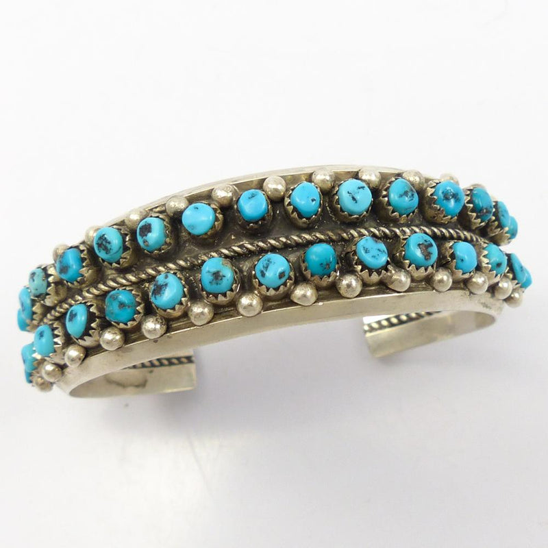 1970s Morenci Turquoise Cuff