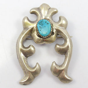 1960s Turquoise Pin and Pendant