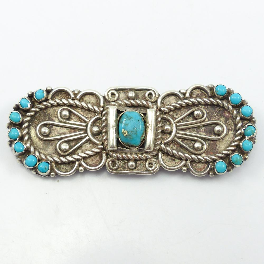 1970s Turquoise Pin