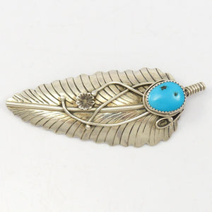 1970s Feather Pin and Pendant