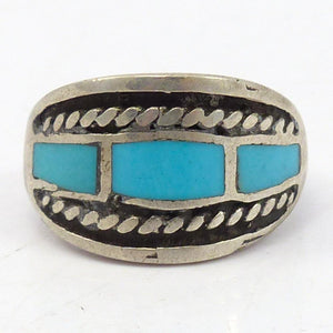 1960s Turquoise Inlay Ring