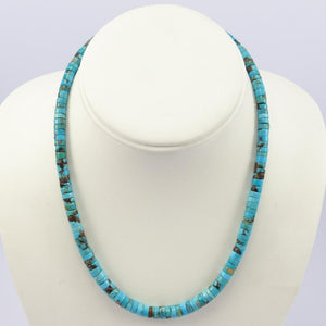 1960s Turquoise Bead Necklace
