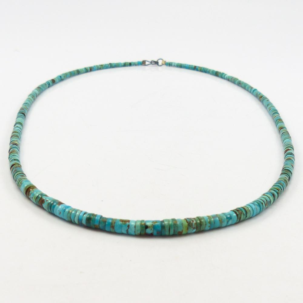 1940s Turquoise Bead Necklace