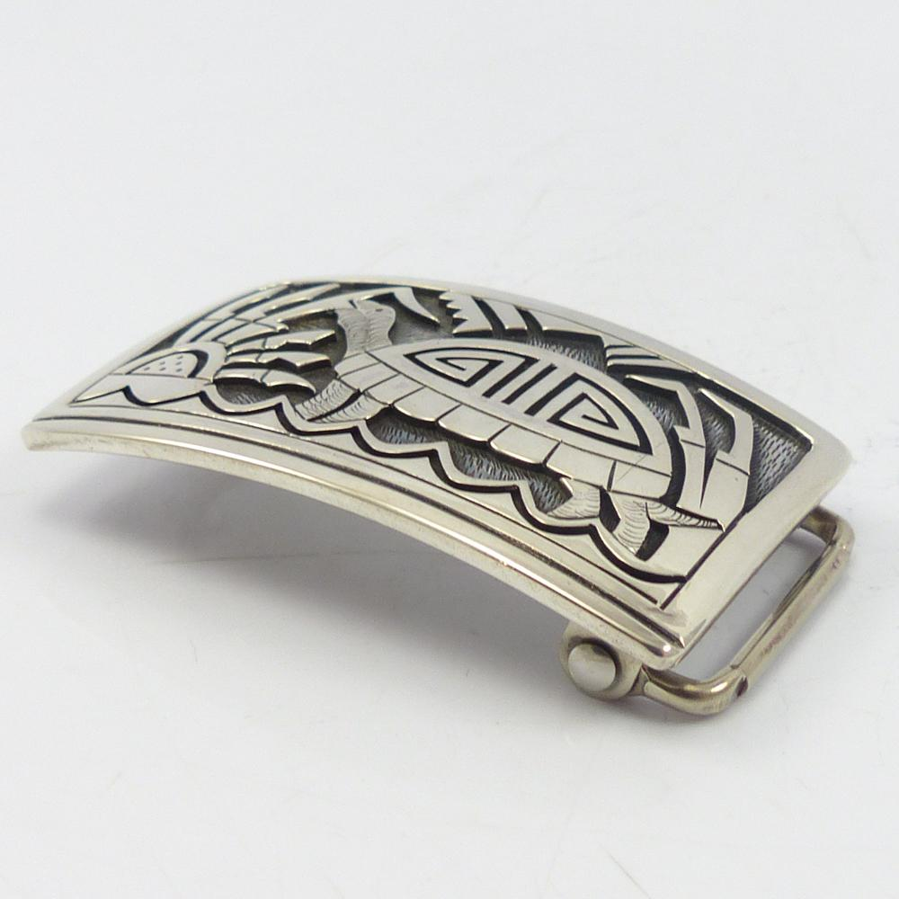 1980s Hopi Turtle Buckle