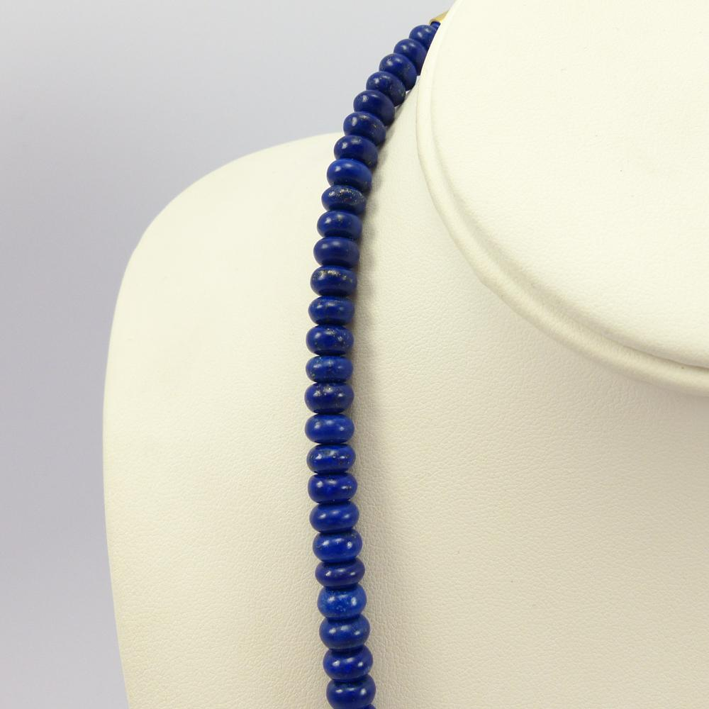Lapis and Coral Necklace