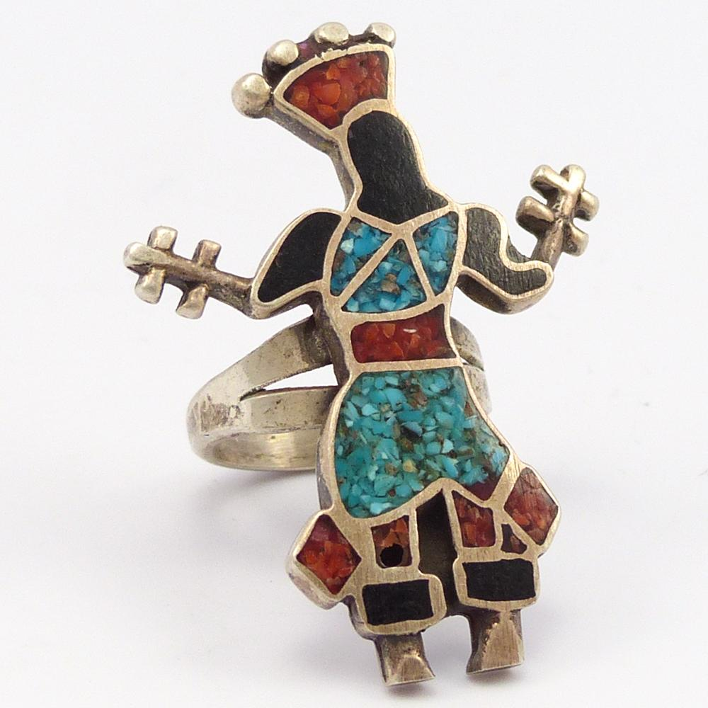 1970s Apache Dancer Ring