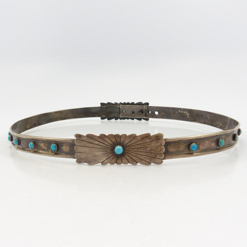 1970s Turquoise Hat Band