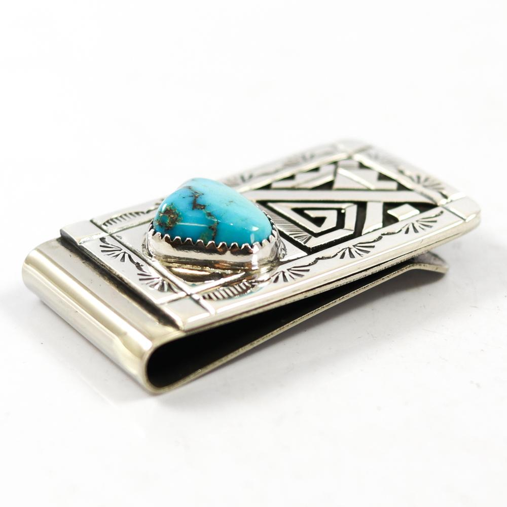 Kingman Turquoise Money Clip