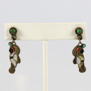 1970s Multi-stone Earrings