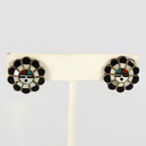 1970s Sunface Earrings