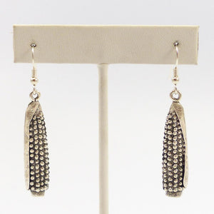 Cast Corn Earrings