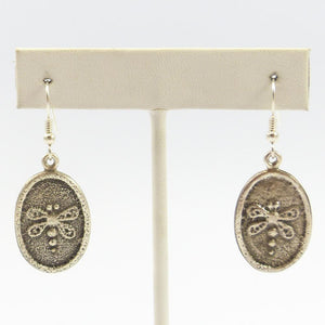 Tufa Cast Dragonfly Earrings