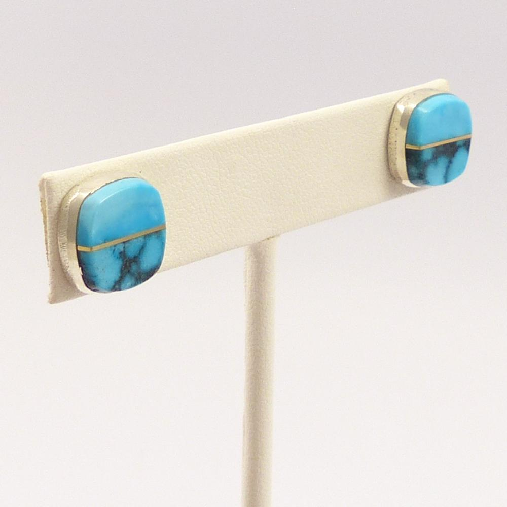 Ithaca Peak Turquoise Earrings