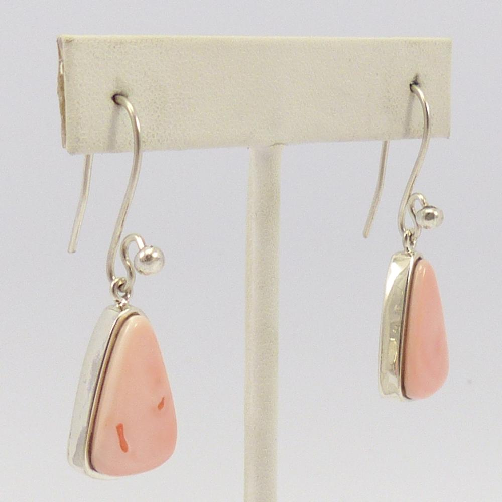 Angel Coral Earrings