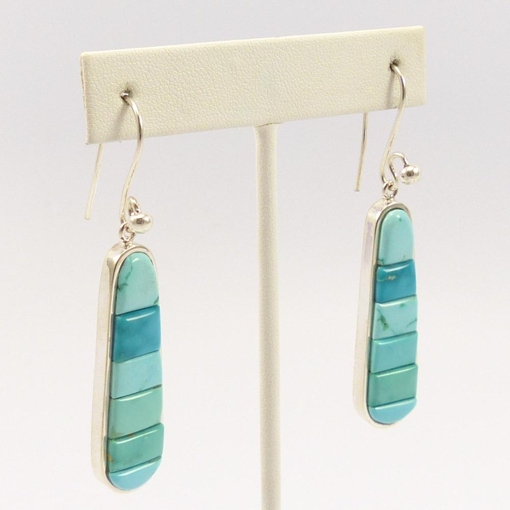 Fox Turquoise Earrings