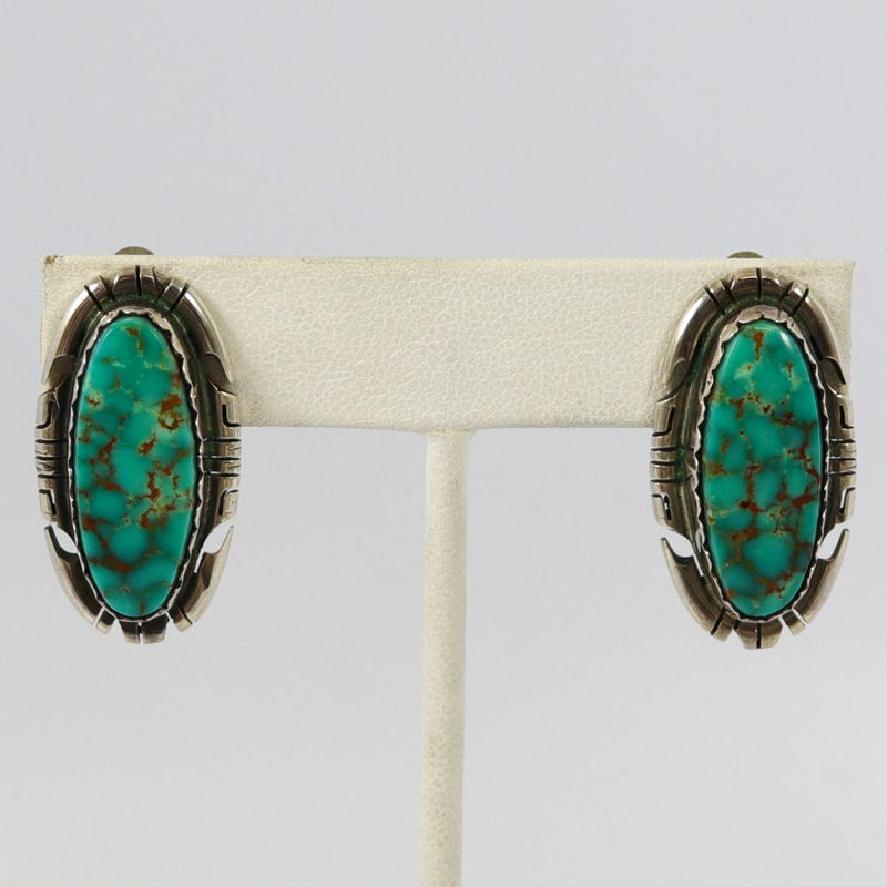 Vintage Royston Turquoise Earrings