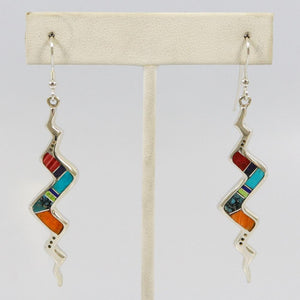 Multi-stone Inlay Earrings