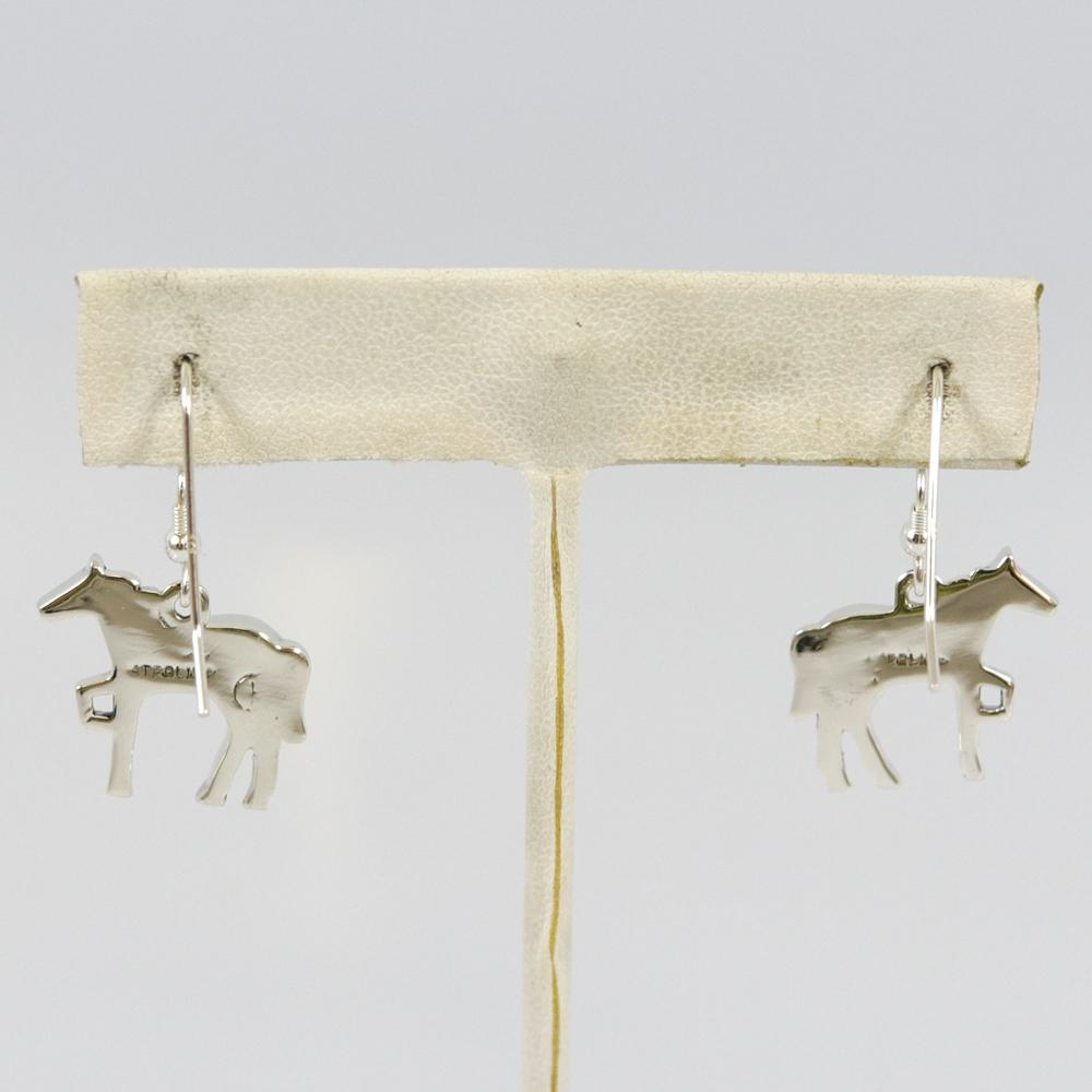 Spiny Oyster Horse Earrings