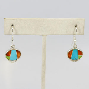 Multi-stone Inlay Earring
